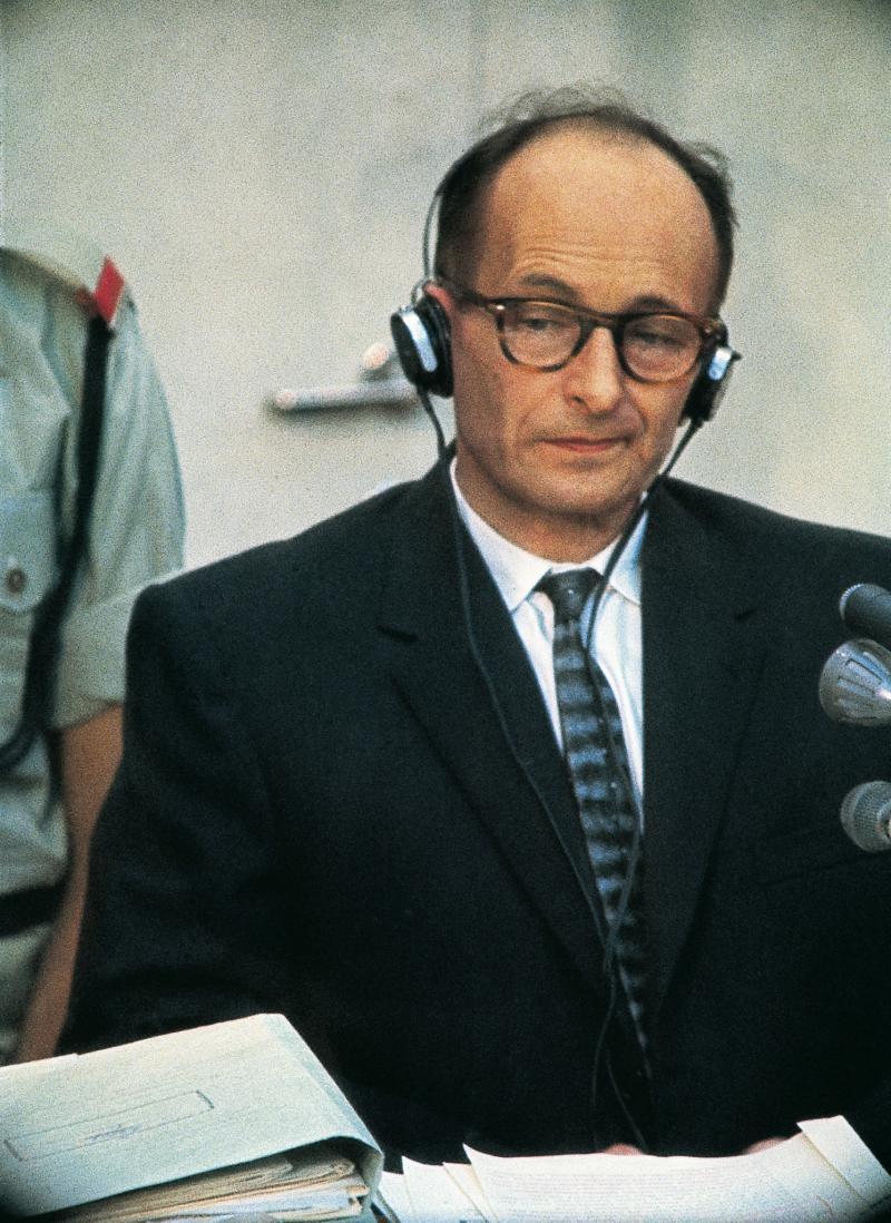 Picture of Adolf Eichmann