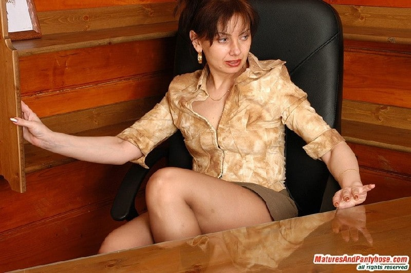 Russian Mature Pantyhose Russian Milf 111
