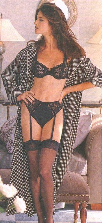 Stephanie Seymour Bikini All Wet And Transparent