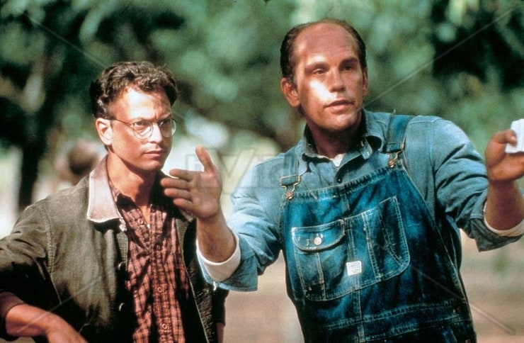 Director Gary Sinise and John Malkovich