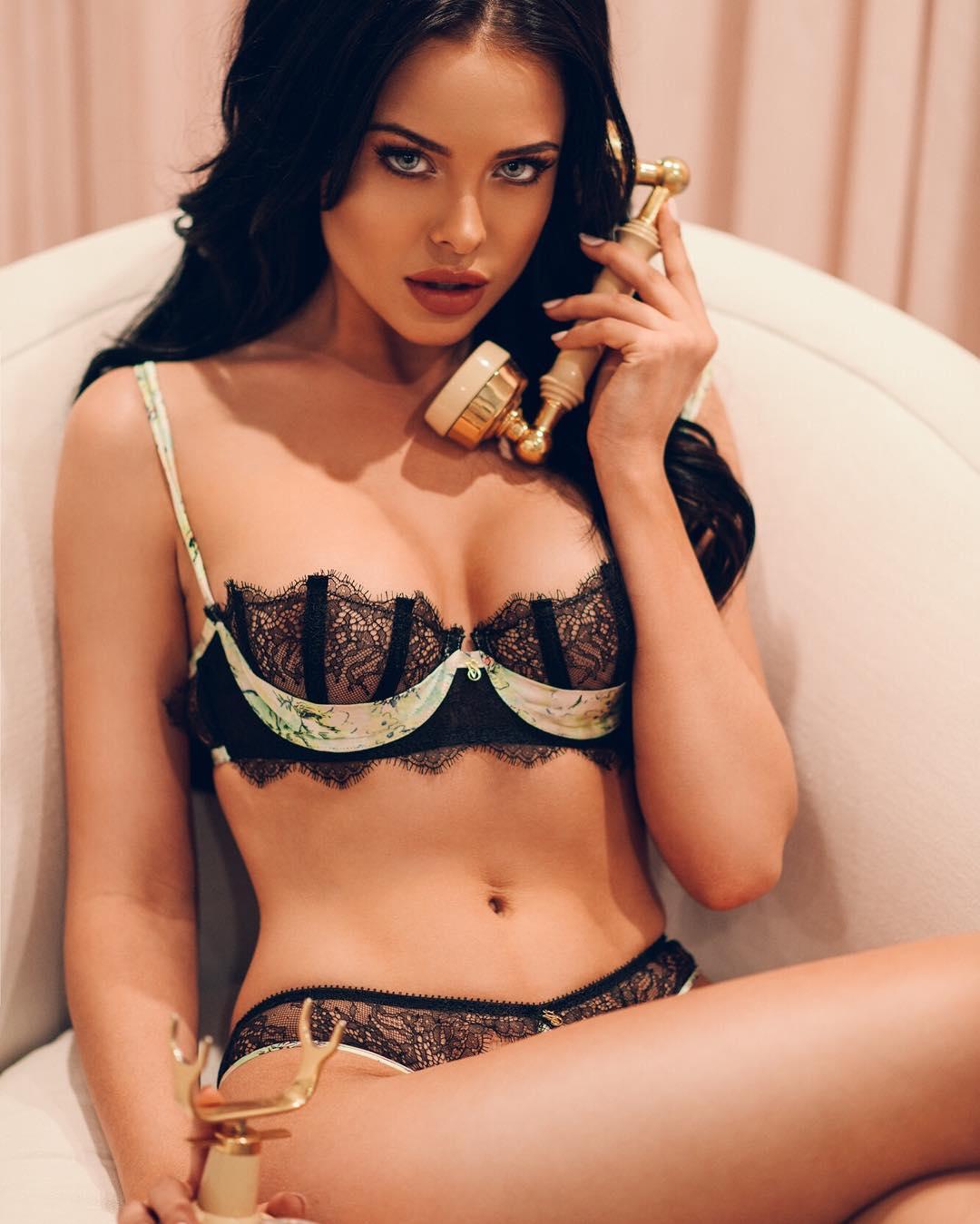 Watch Mara teigen lingerie video
