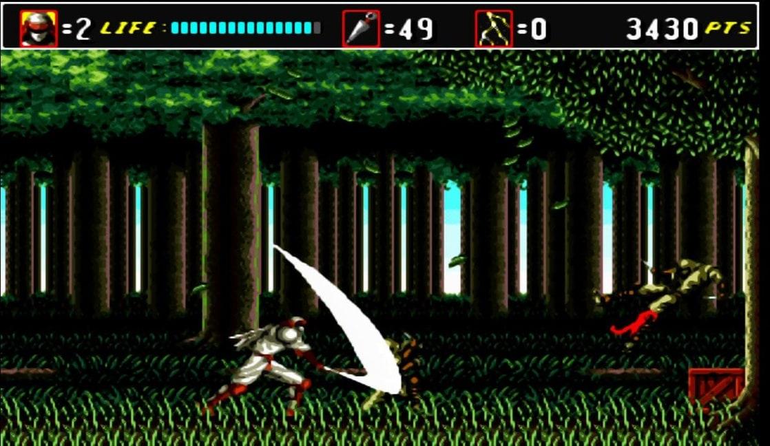 Picture Of Shinobi Iii Return Of The Ninja Master