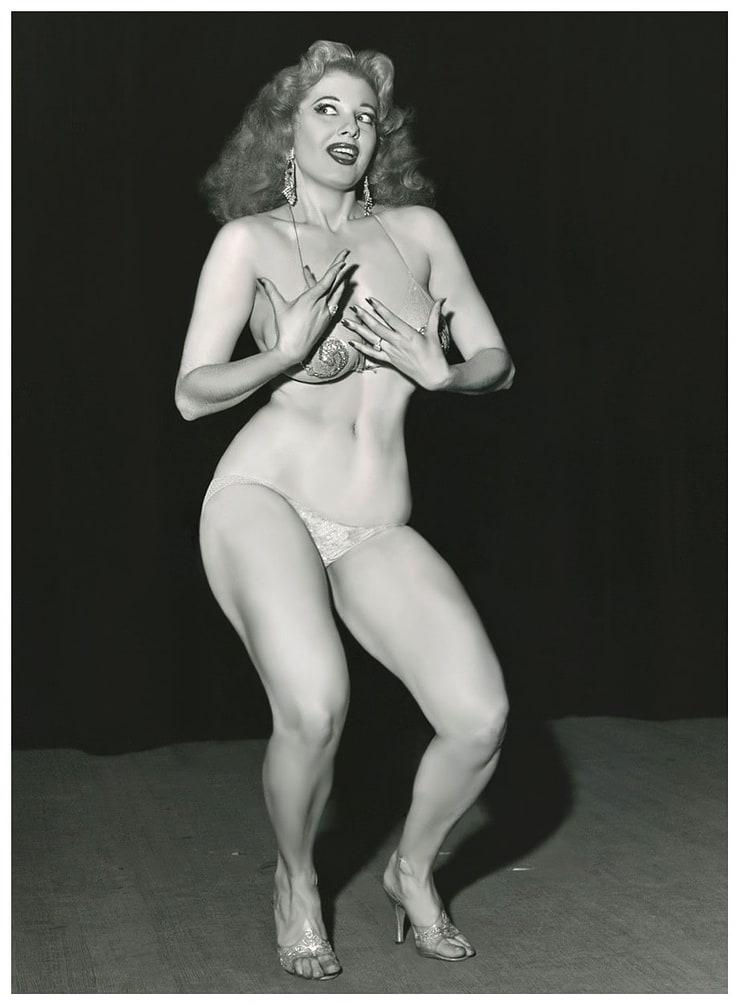 Naked woman bare feet
