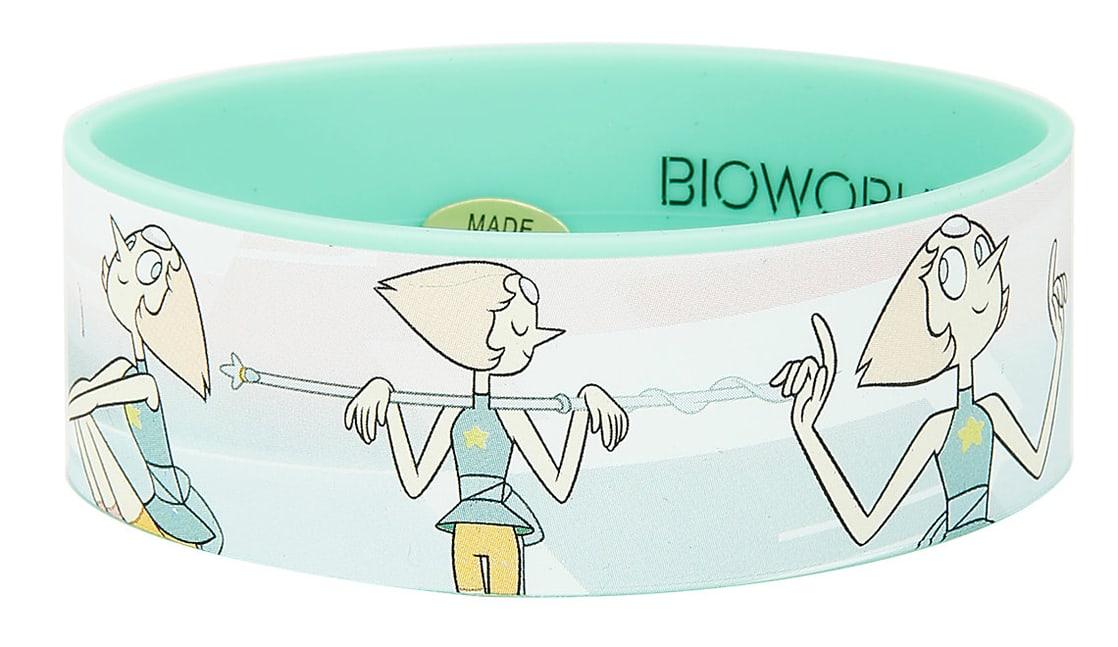 Steven Universe Pearl Rubber Bracelet