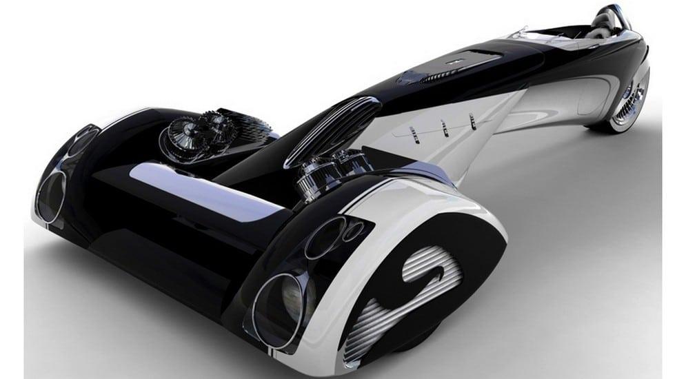 Francisco Mieres - Prototipo de automovil