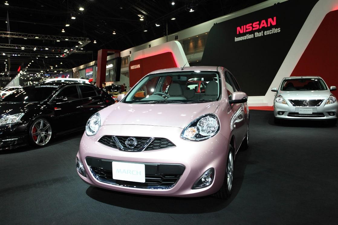 Auto del futuro Nissan en Expo auto - Mieres Fernández
