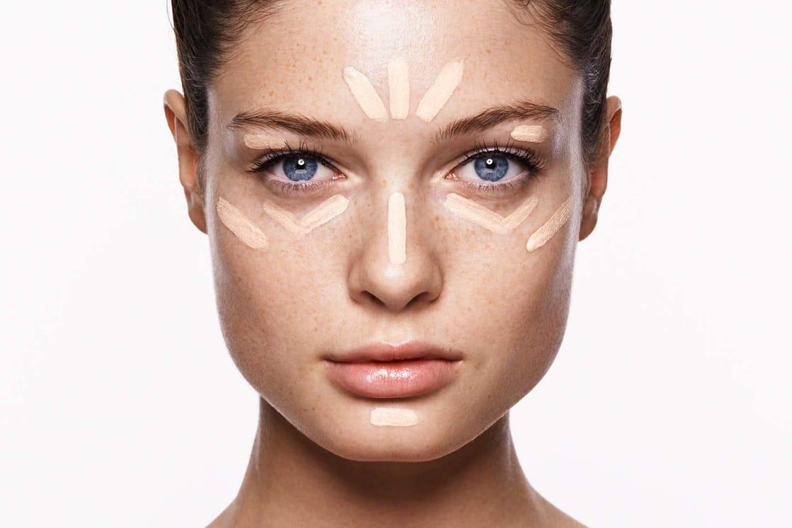 Как при помощи макияжа сделать идеальное лицо