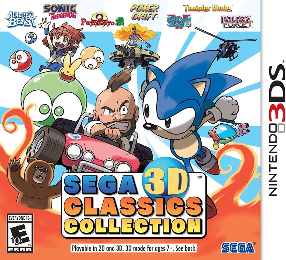 SEGA 3D Classics Collection - Nintendo 3DS