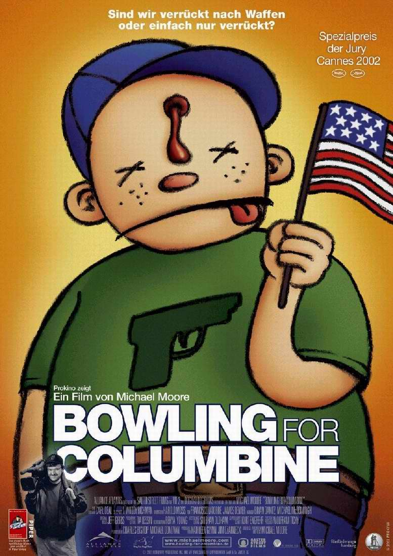 bowling for columbine film techniques I first saw bowling for columbine (a documentary by michael moore about gun violence in america and the 1999 columbine high school massacre) in a film studies lesson.