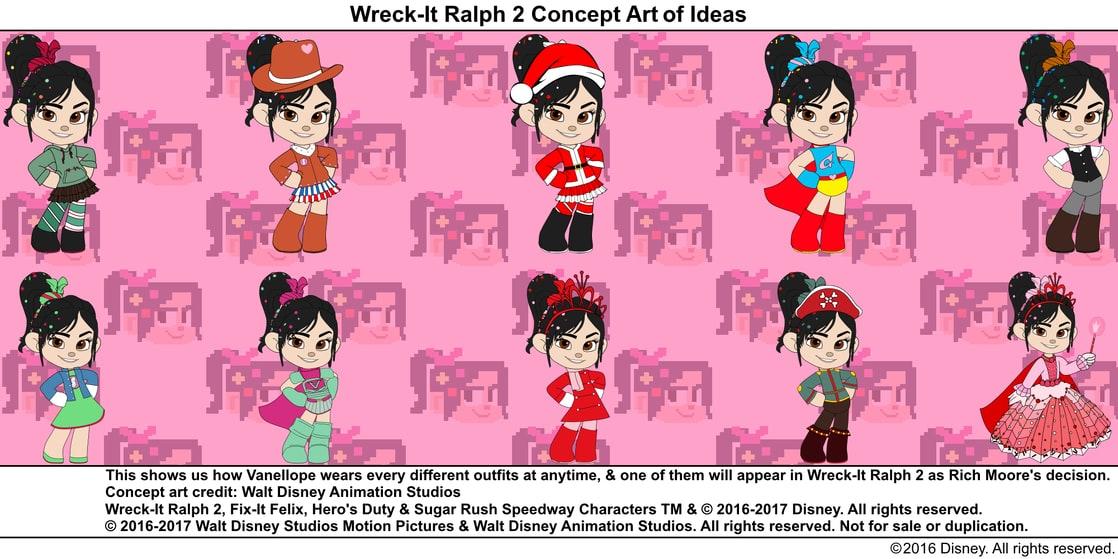 Concept Art Wreck It Ralph 2