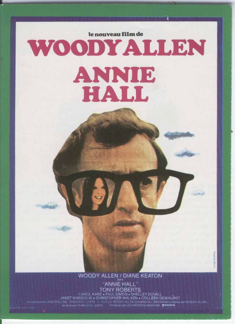 annie hall film analysis A complete look at woody allen's 1977 film annie hall including movie review, trivia, soundtrack and film information  alvy's sixteenth year of analysis his .