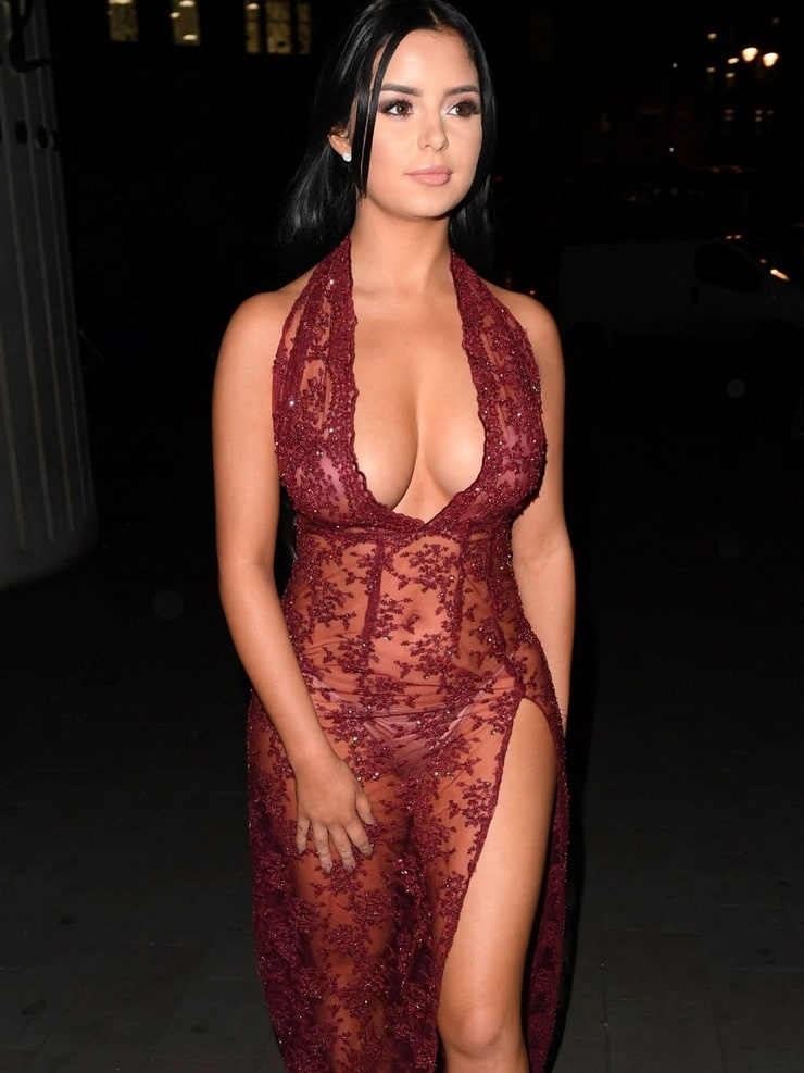 Demi Rose Leaves Little To