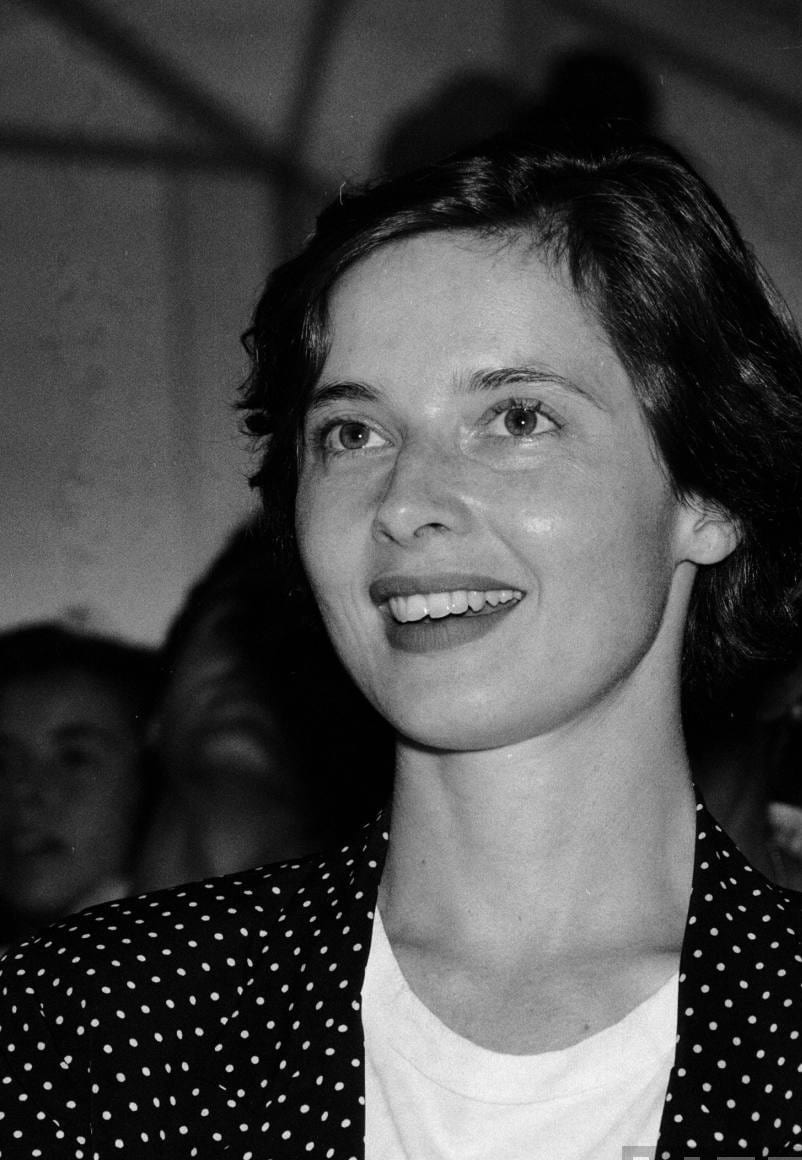 The gallery for --> Young Isabella Rossellini