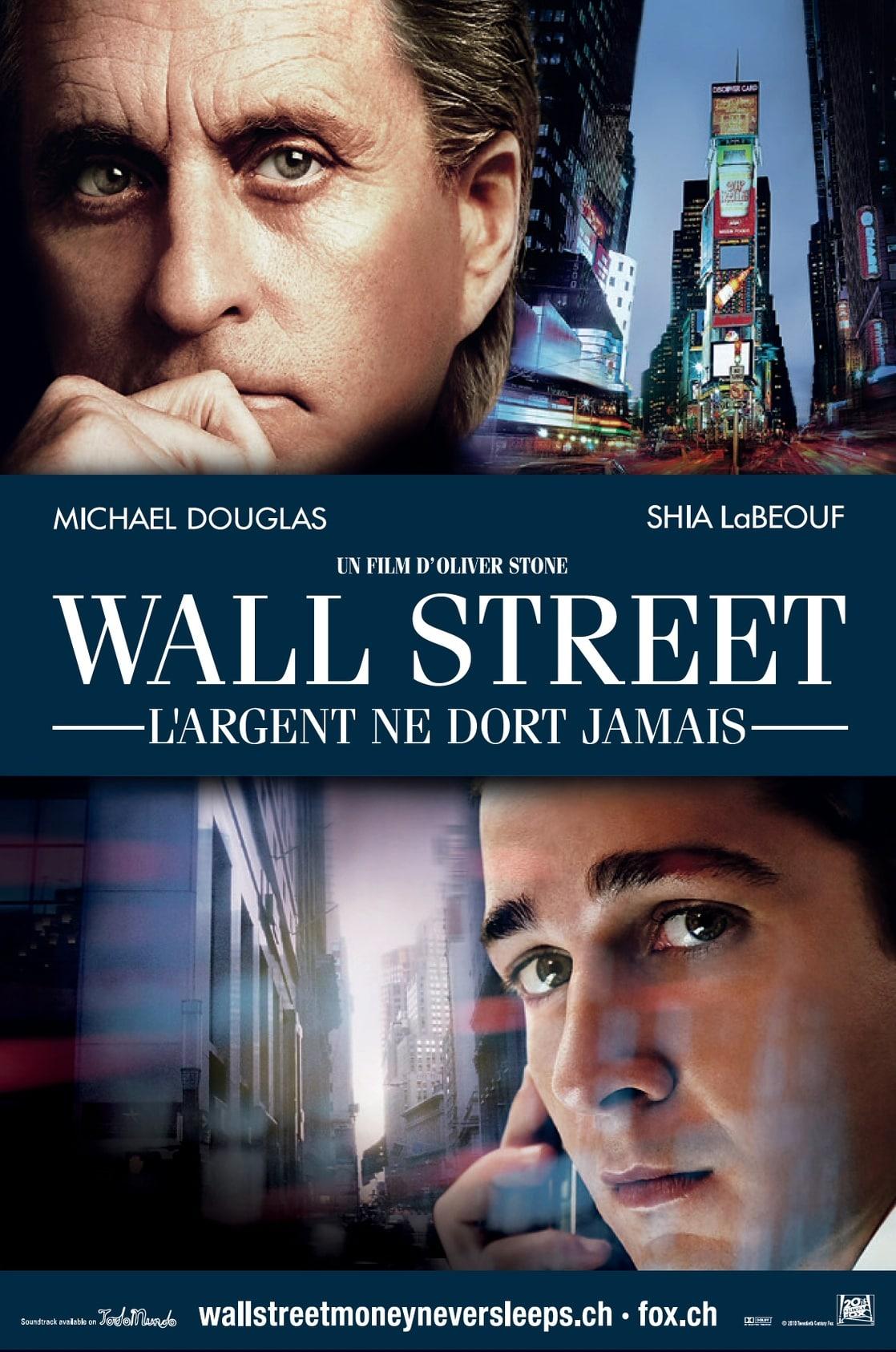 WALL STREET: MONEY NEVER SLEEPS O.S.T. - Wall Street ...