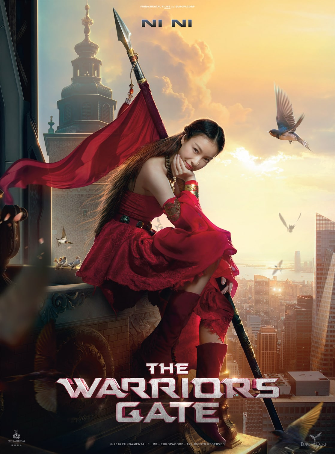 enter the warriors gate 2016 full movie