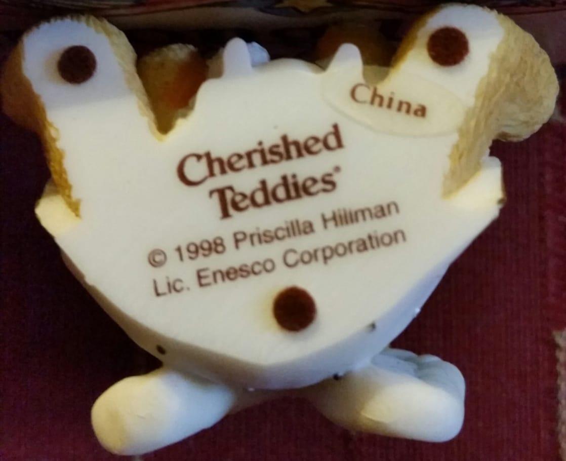Cherished Teddies - Book & Figurine Gift Set (