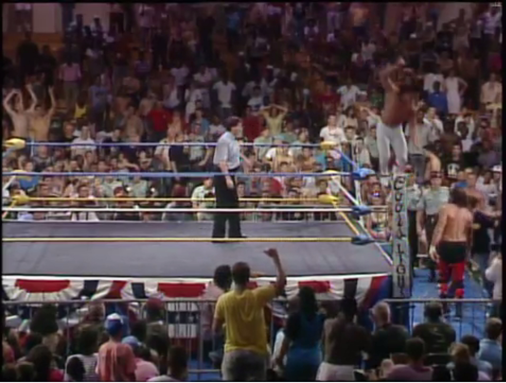 Ricky Steamboat vs. Terry Funk (6/14/89)
