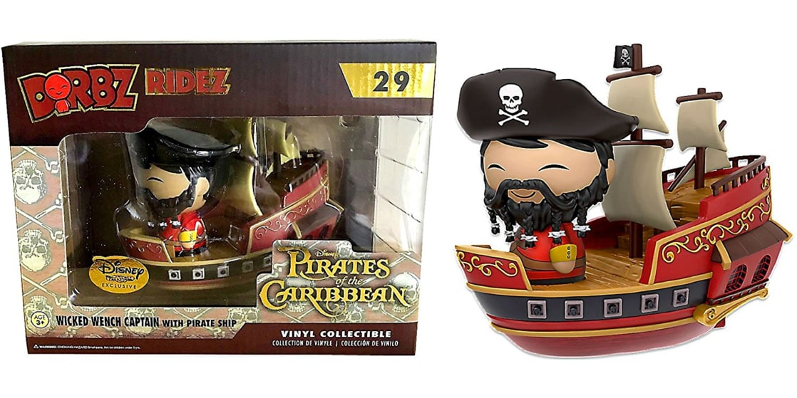 Pirates of the Caribbean Dorbz Ridez: Wicked Wench w/ Captain Disney Treasures Exclusive