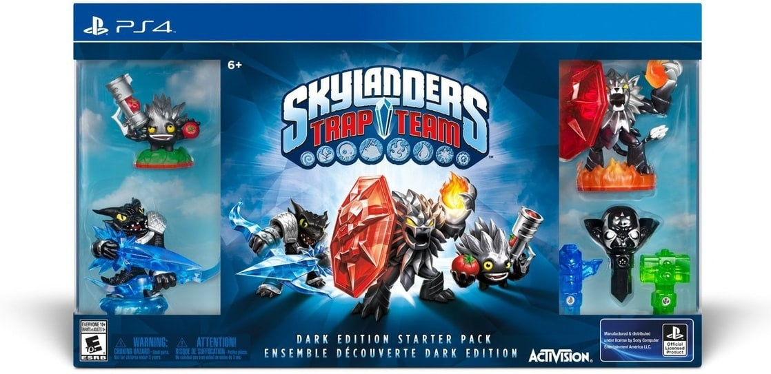 Skylanders Trap Team Dark Edition Starter Pack - PlayStation 4