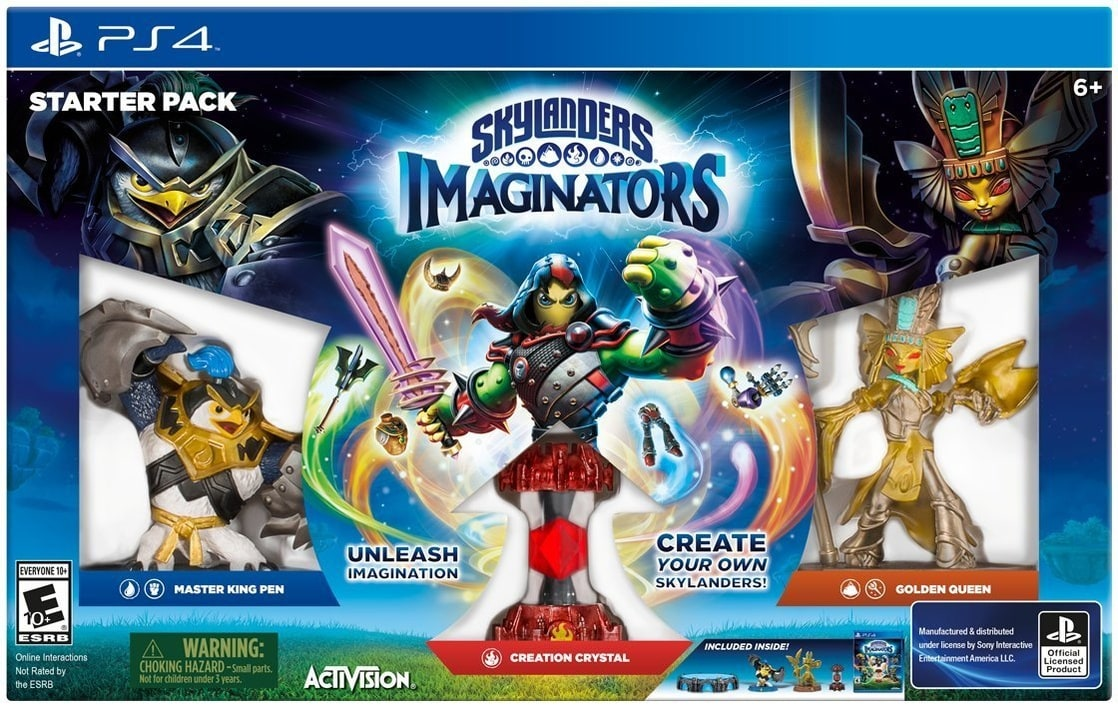 Skylanders Imaginators PS4 Starter Kit