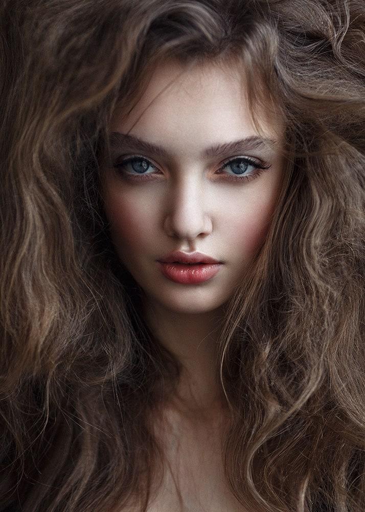 Polina. Model @polina_kostyuk #madewithluminar | Beauty