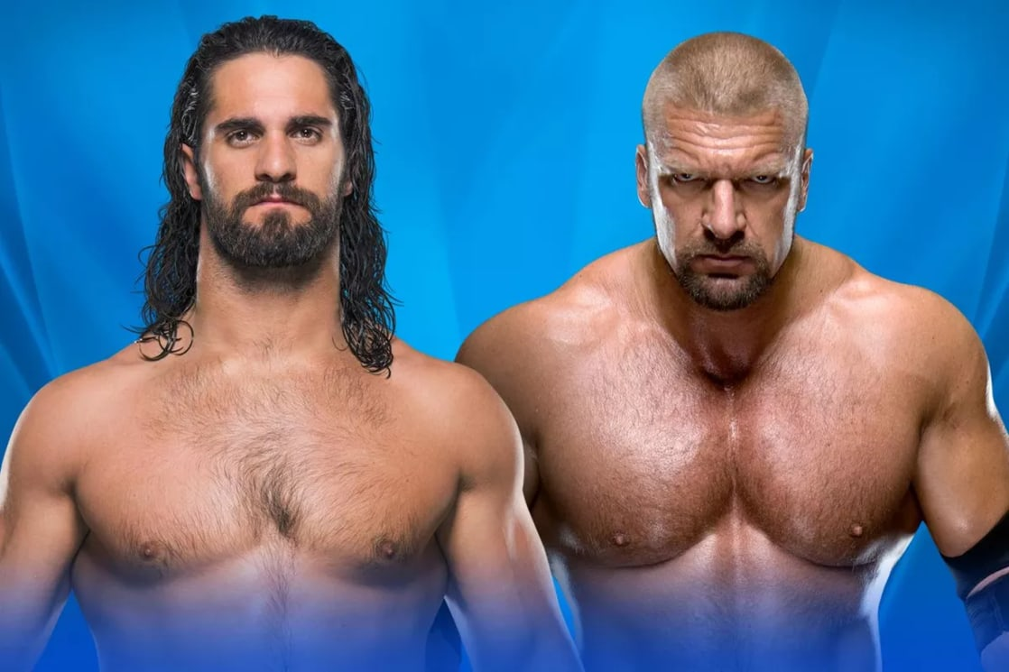 Seth Rollins vs. Triple H (WWE, Wrestlemania 33)