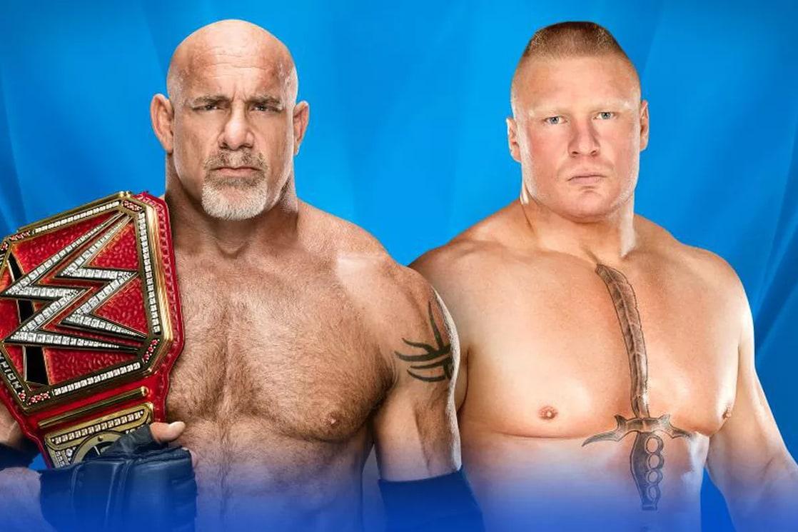 Goldberg vs. Brock Lesnar (WWE, Wrestlemania 33)