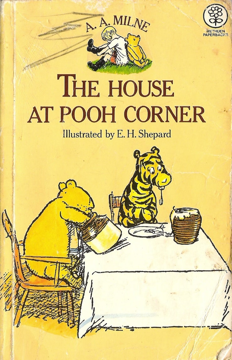 picture of the house at pooh corner
