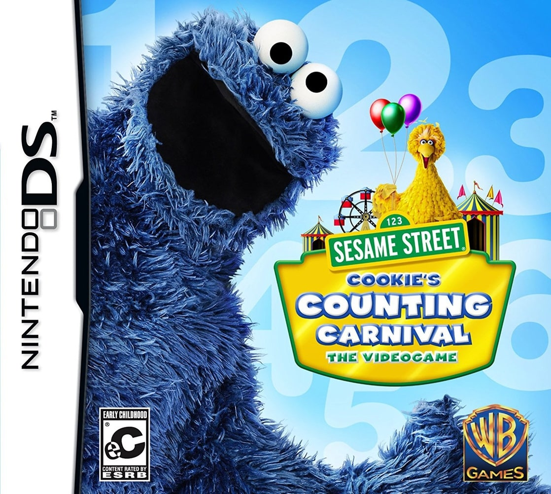 Sesame Street: Cookies Counting Carnival (W/Stylus