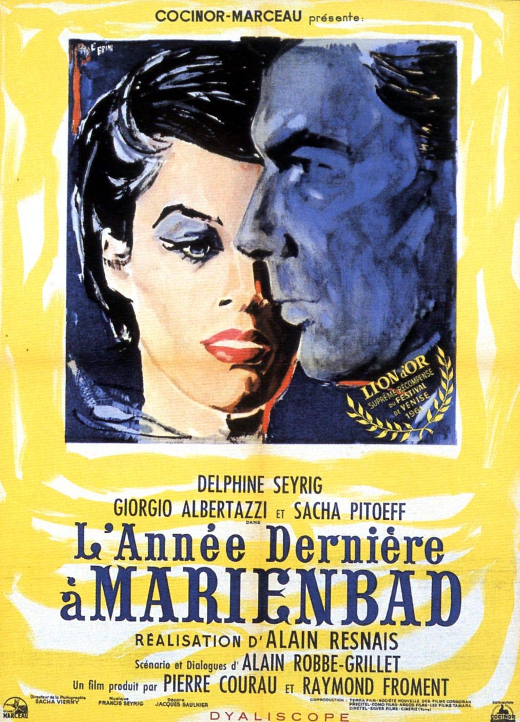 Фильм «В Прошлом Году В Мариенбаде» — 1961