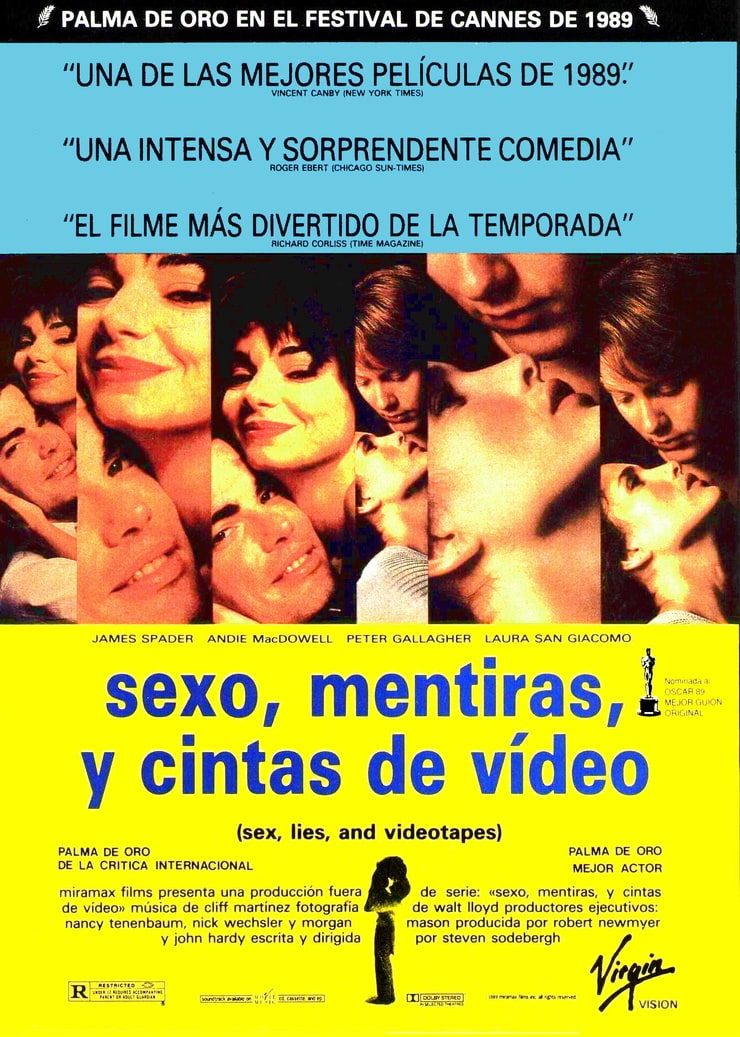 sex poster sex lies and videotape