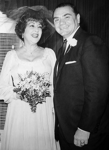 Ethel merman wedding
