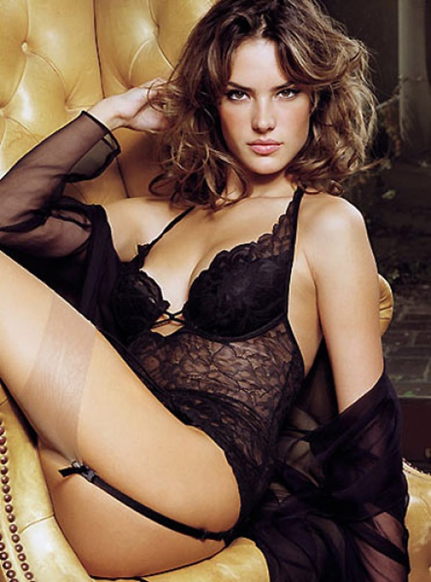 Think, that alessandra ambrosio see through lingerie simply