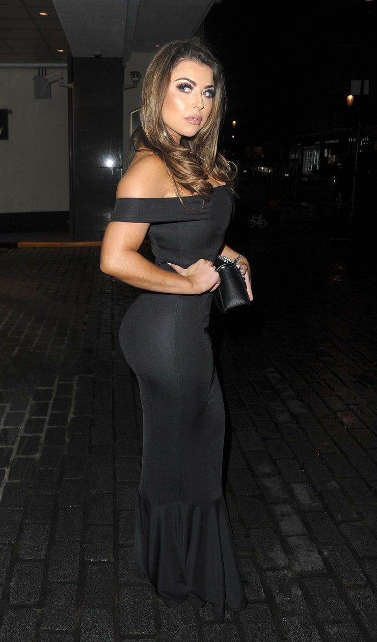 Abigail Clarke Night Out Style - Sheesh Restaurant in