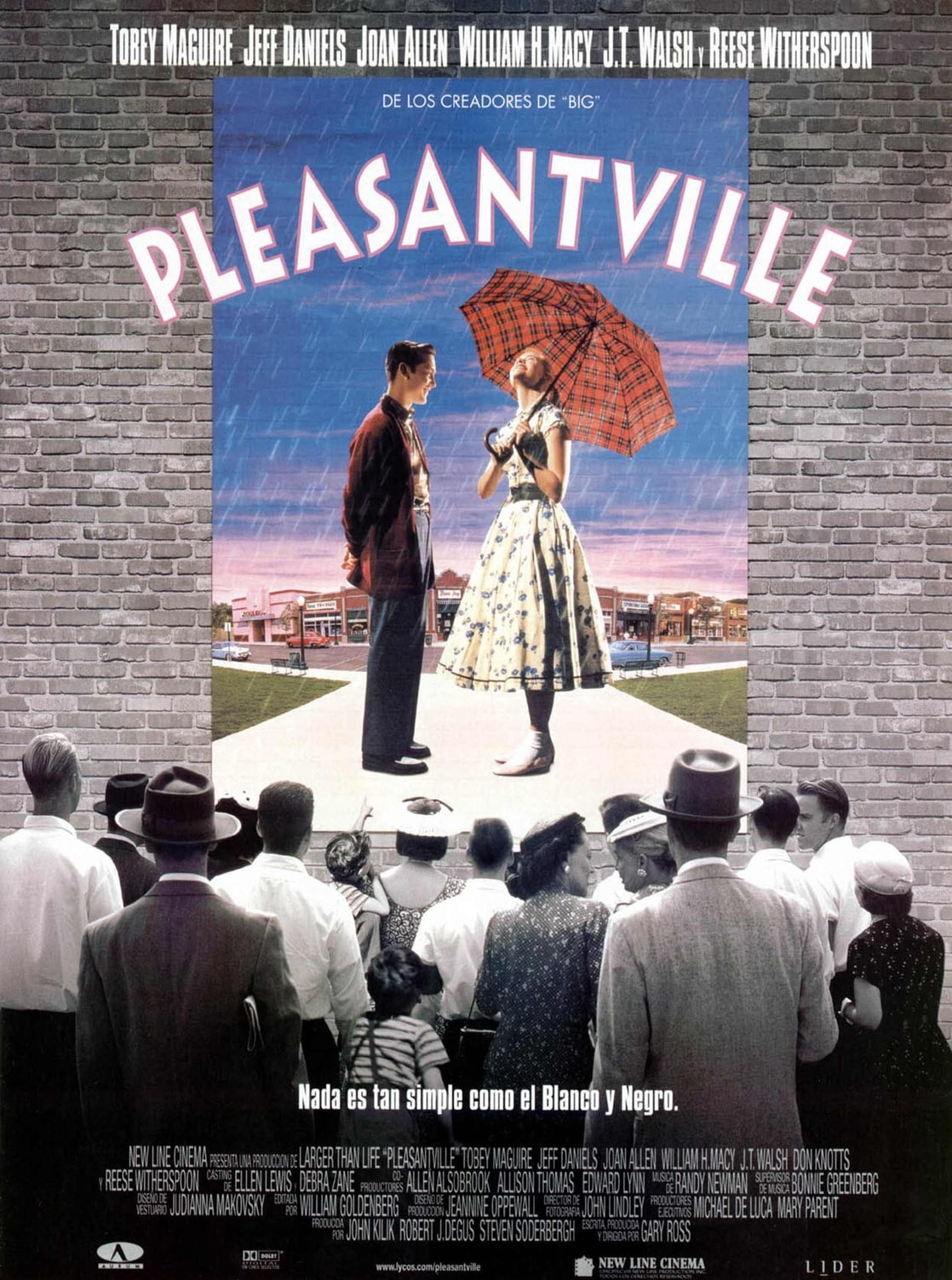 sociological perspective on the movie pleasentville Movies for sociological review  to review a movie you must use the guidelines i provide  pleasantville the truman show memento.