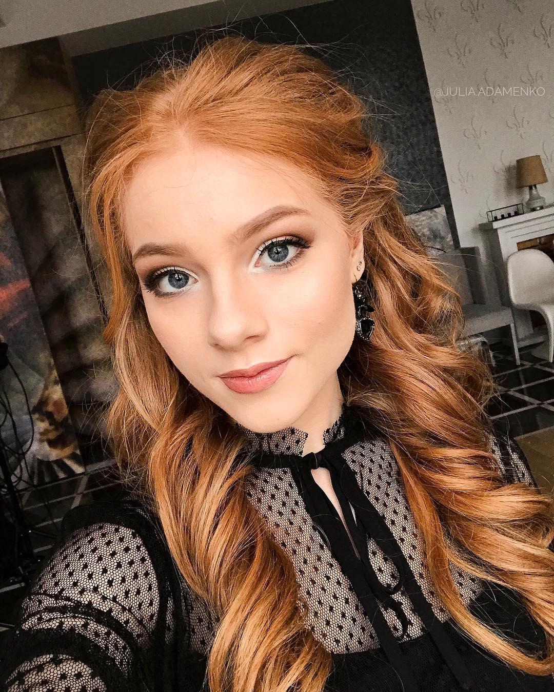 Rotblonde Haare