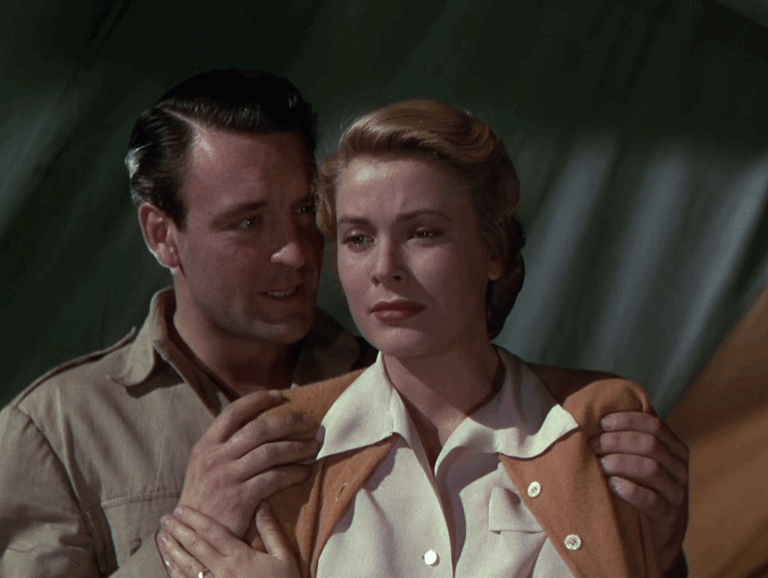 Donald Sinden and Grace Kelly
