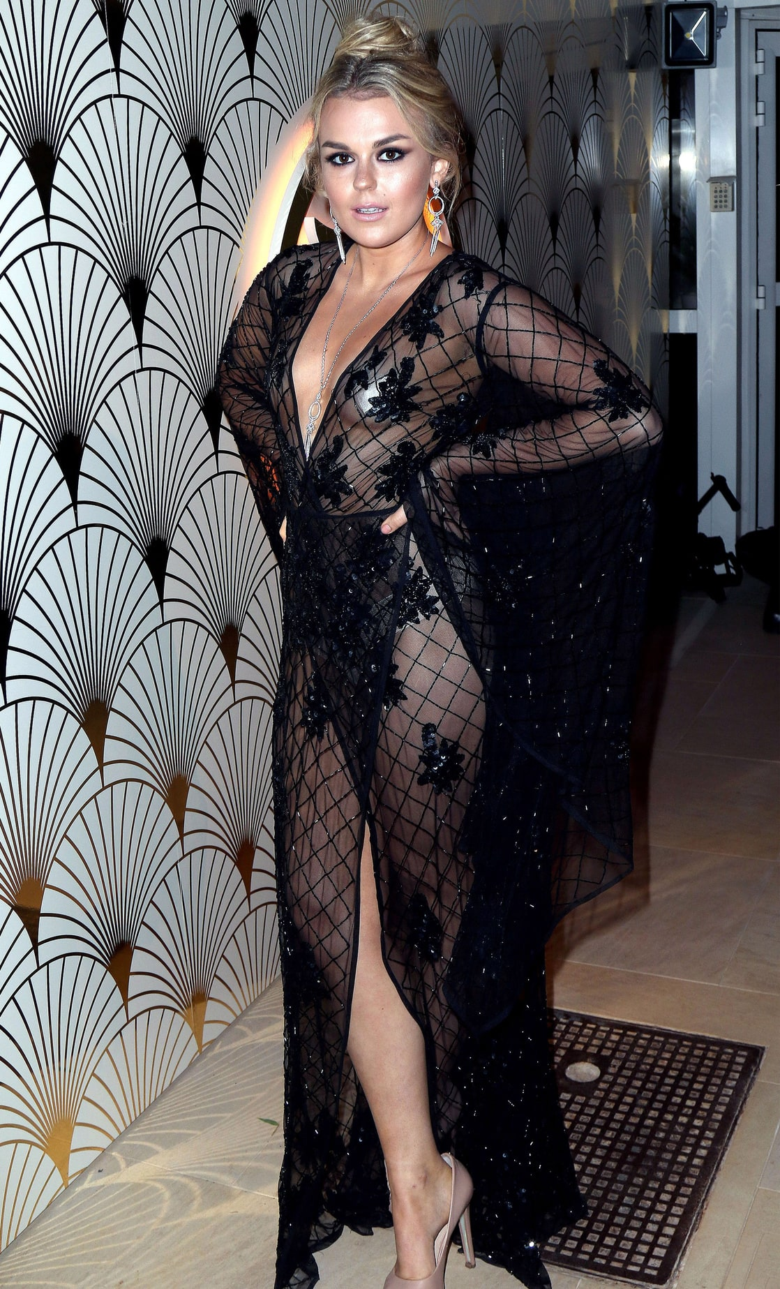 Watch Tallia storm see through video
