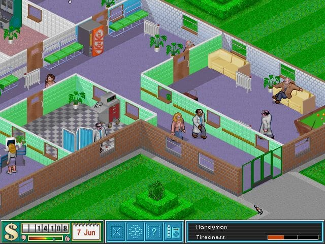 a Simulation Computer Game
