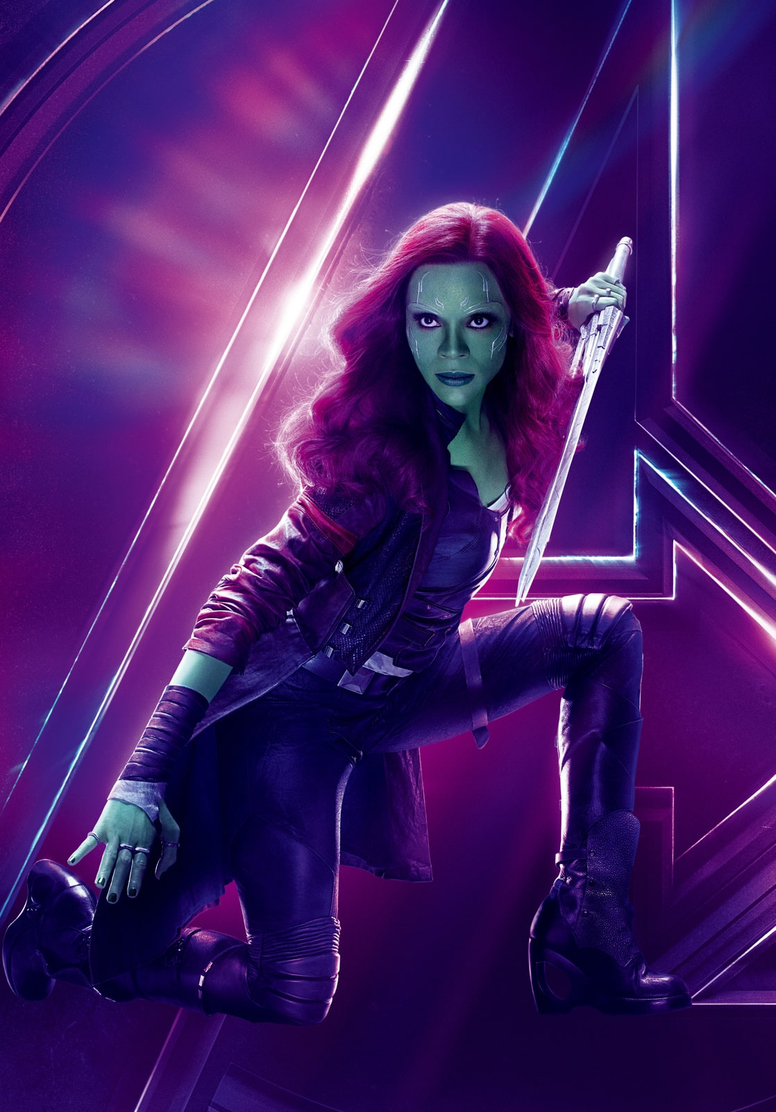 Picture Of Gamora Zoe Saldana