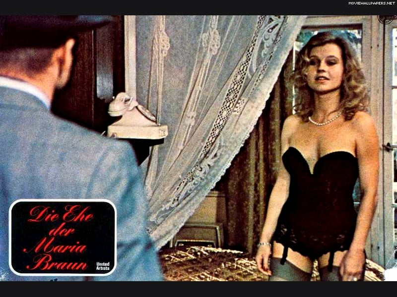 review of marriage of maria braun (the marriage of maria braun) west germany, 1978 director: rainer werner  fassbinder production: albatros film (m fengler), trio film, wdr, and  filmerlog.