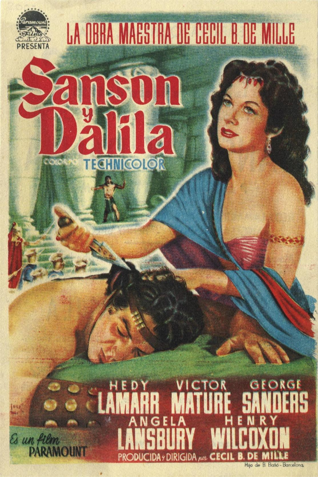 picture of samson and delilah