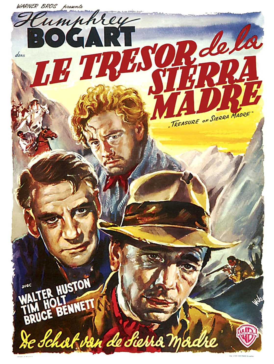 a review of the movie treasure of the sierra madres Of the sierra madre f robert whaples with the price of gold having soared to more than $1,000 per ounce, here's an investment tip spend a couple hours watching a cinematic classic: john huston's the treasure of the sierra madre the american film institute selected sierra madre as thirty-eighth on its list of the.