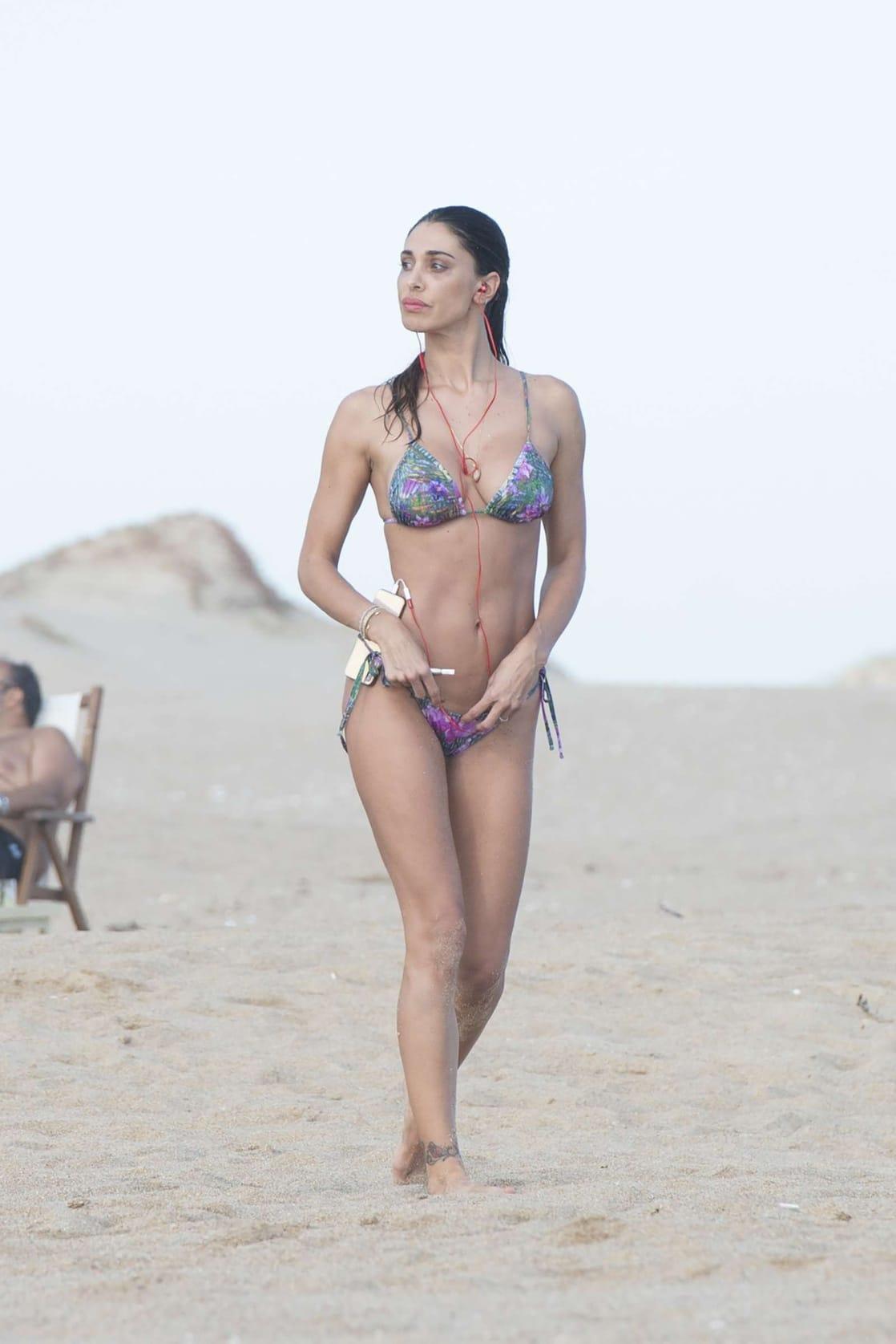 Belen Rodriguez Bikini Nude Photos