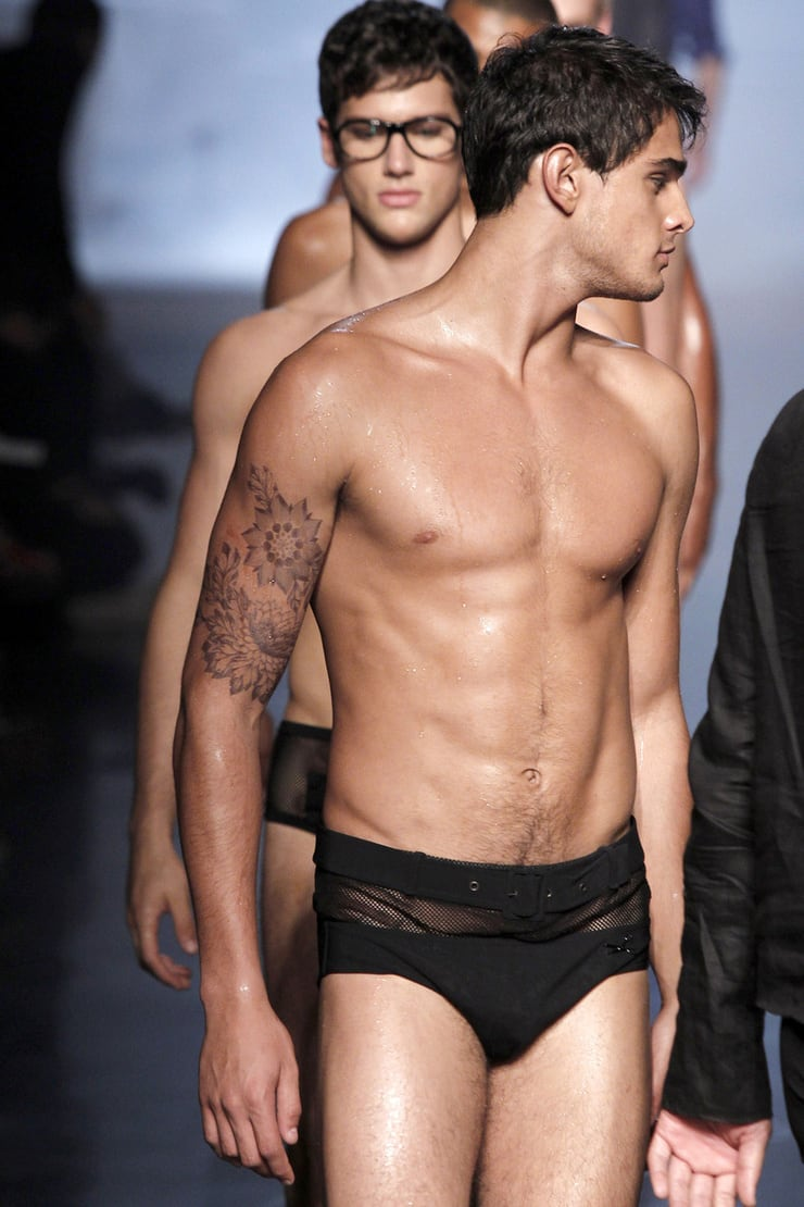 Male underwear fashion show video 39