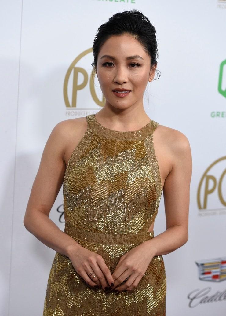 Constance Wu attends HBOs Official Golden Globe Awards