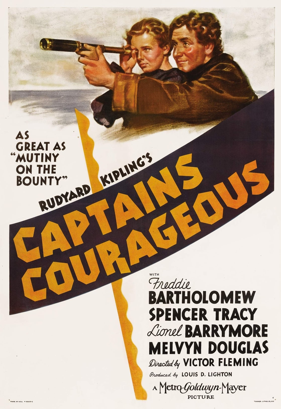captains courageous Watch captains courageous movie trailer and get the latest cast info, photos, movie review and more on tvguidecom.
