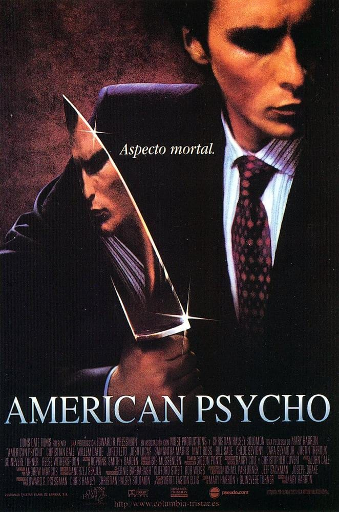 movie review american psycho American psycho is a film that, like the novel on which it's based, is likely to  as  for me, well just read my review, i bloody love this film.