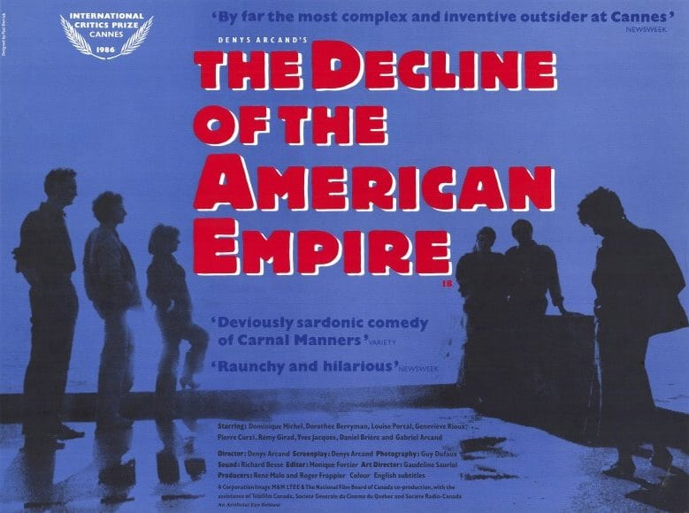 a history of the decline of the american empire