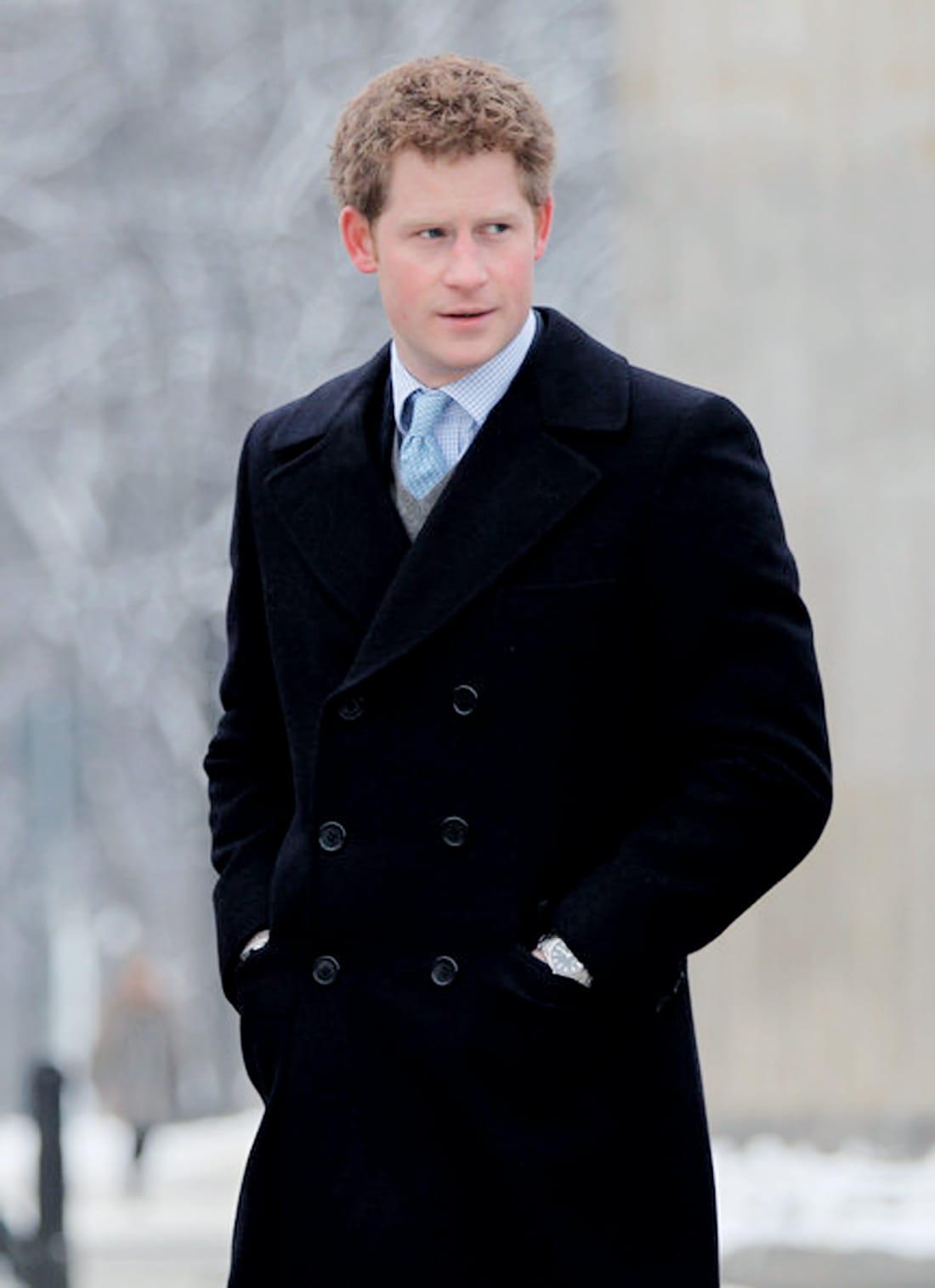 biography prince harry windsor